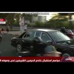 شاهد.. موكب خادم الحرمين الشريفين خلال استقباله في الكويت