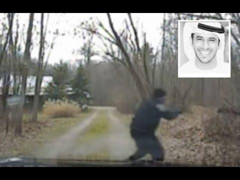 """شاهد .. لحظة مقتل الطالب الإماراتي """"سيف العامري"""" على يد شرطي أمريكي"""