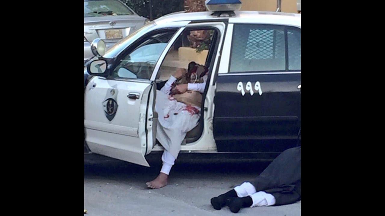 شاهد.. كيف منع رجل أمن إرهابييْن من الاستيلاء على دورية بالرياض
