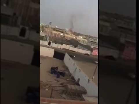 بالفيديو.. الجهات الأمنية تحاصر إرهابيين وتتبادل إطلاق النار معهم في حي الحرازات بجدة
